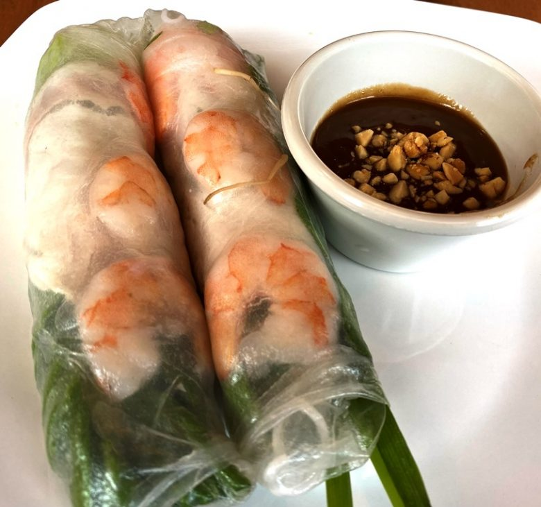 Summer rolls at Midtown Pho in Raleigh - nctriangledining.com