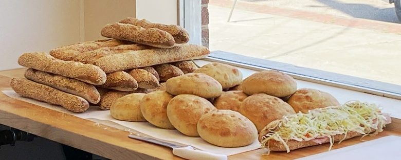 Fresh-baked bread at Ideal's Sandwiches and Groceries, Durham - nctriangledining.com